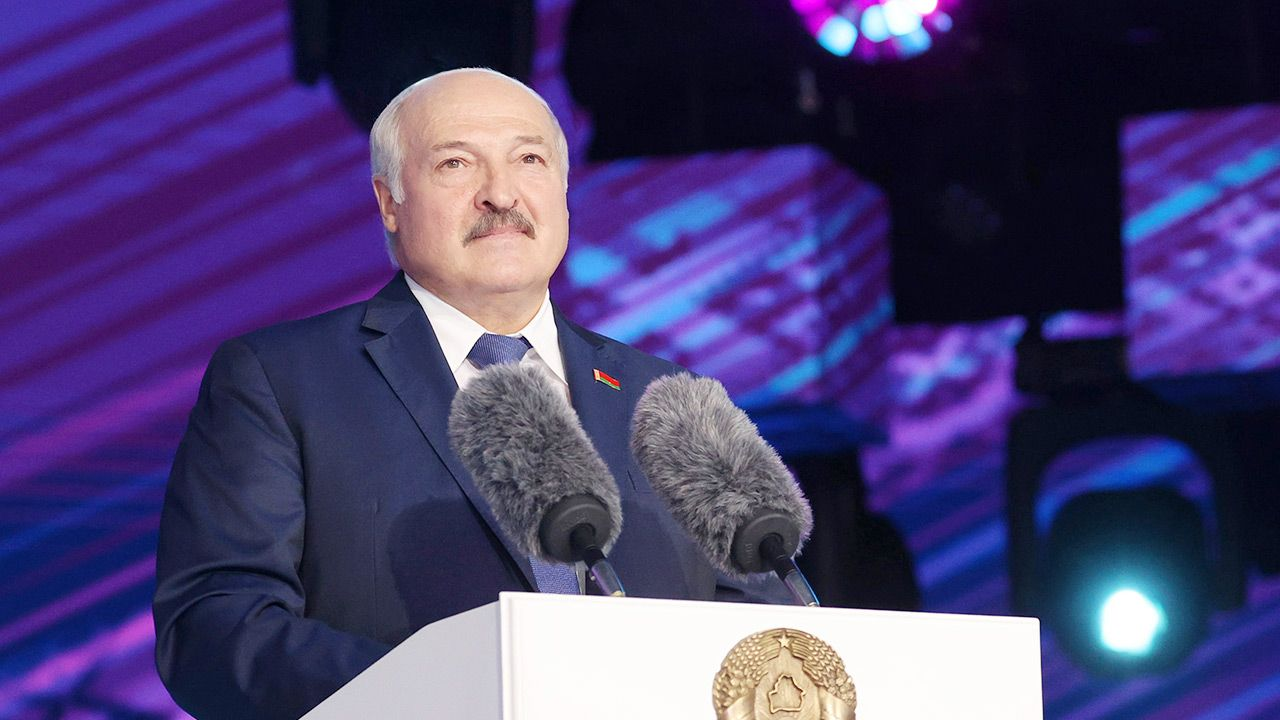 Alaksandr  Łukaszenka (fot. Maxim Guchek\TASS via Getty Image)