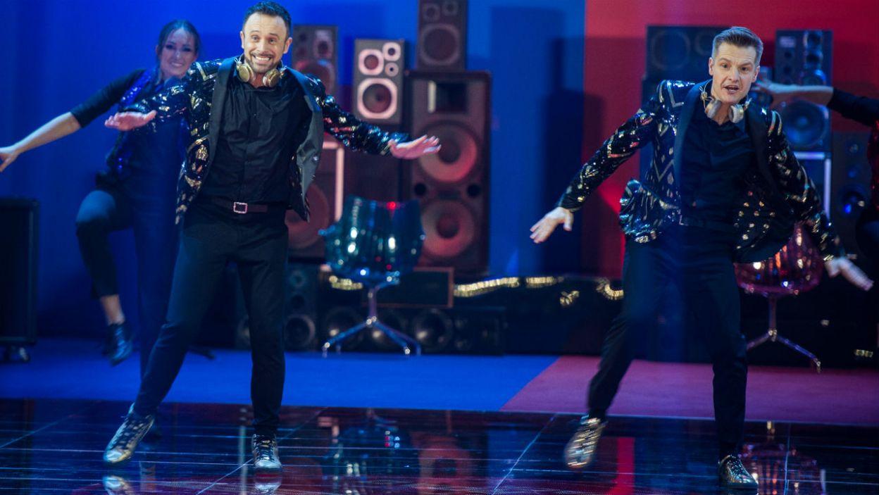 – To jest para, która jest niezwykle utalentowana tanecznie! – nie szczędziła komplementów Ida Nowakowska. Rafał i Przemek mogli czuć się bezpieczni? (fot. TVP)