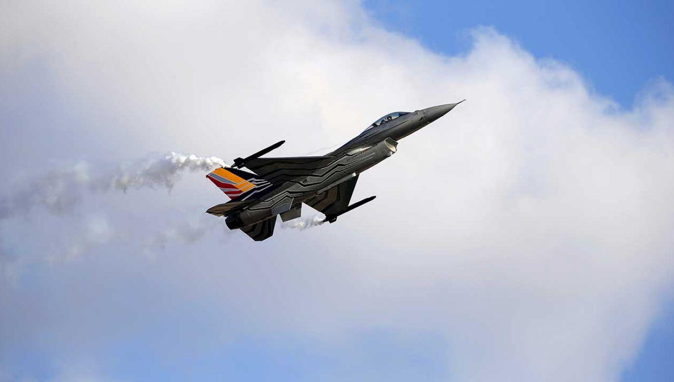 Piloci zdołali katapultować się przed katastrofą (fot. REUTERS/Darrin Zammit Lupi)