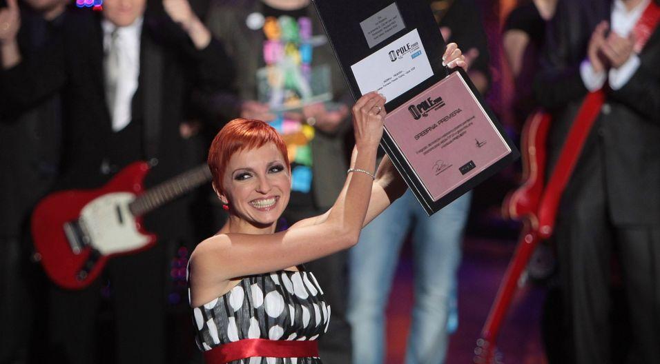 W 2008 roku w życiu wokalistki nadszedł czas na nowy rozdział. Wyszkoni rozpoczęła solową karierę, od razu zdobywając uznanie publiczności i jury na Festiwalu w Opolu (fot. PAP)