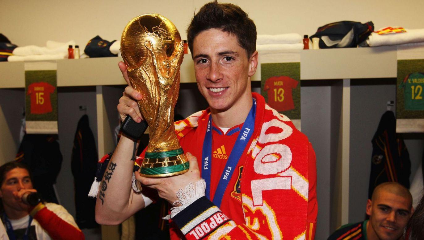 Fernando Torres po wygranym mundialu 2010 (fot. Getty Images)