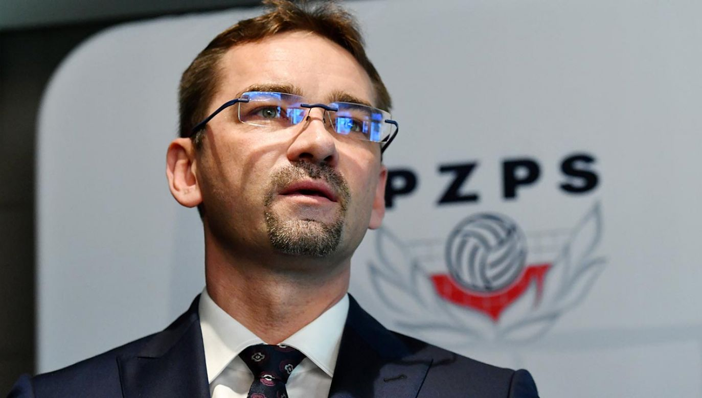 Sebastian Świderski nowym prezesem PZPS (fot. PAP/Piotr Nowak)