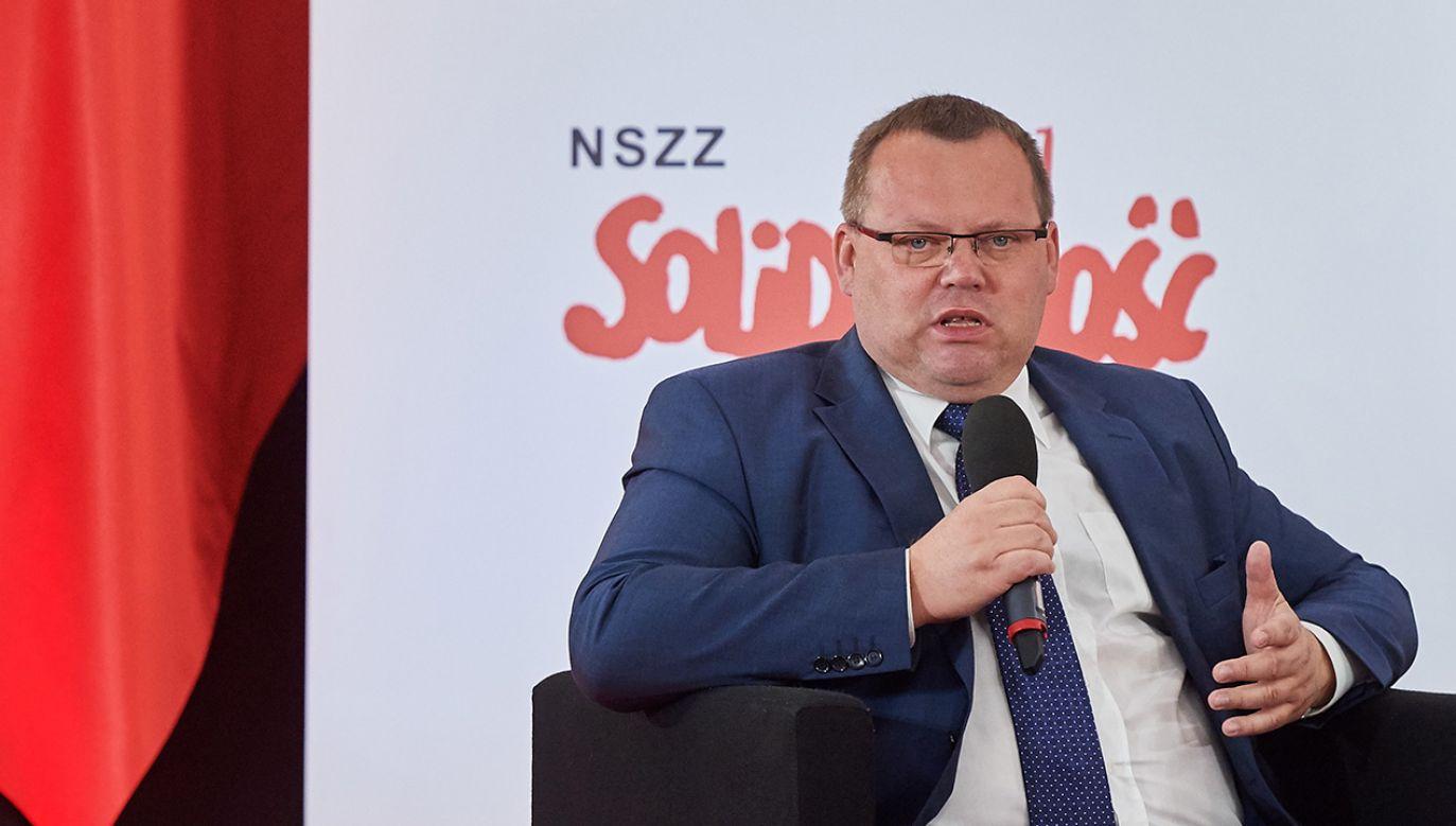 Był dziekanem Wydziału Prawa i Administracji Uniwersytetu Gdańskiego w latach 2012-2018 (fot. arch.PAP/Adam Warżawa)