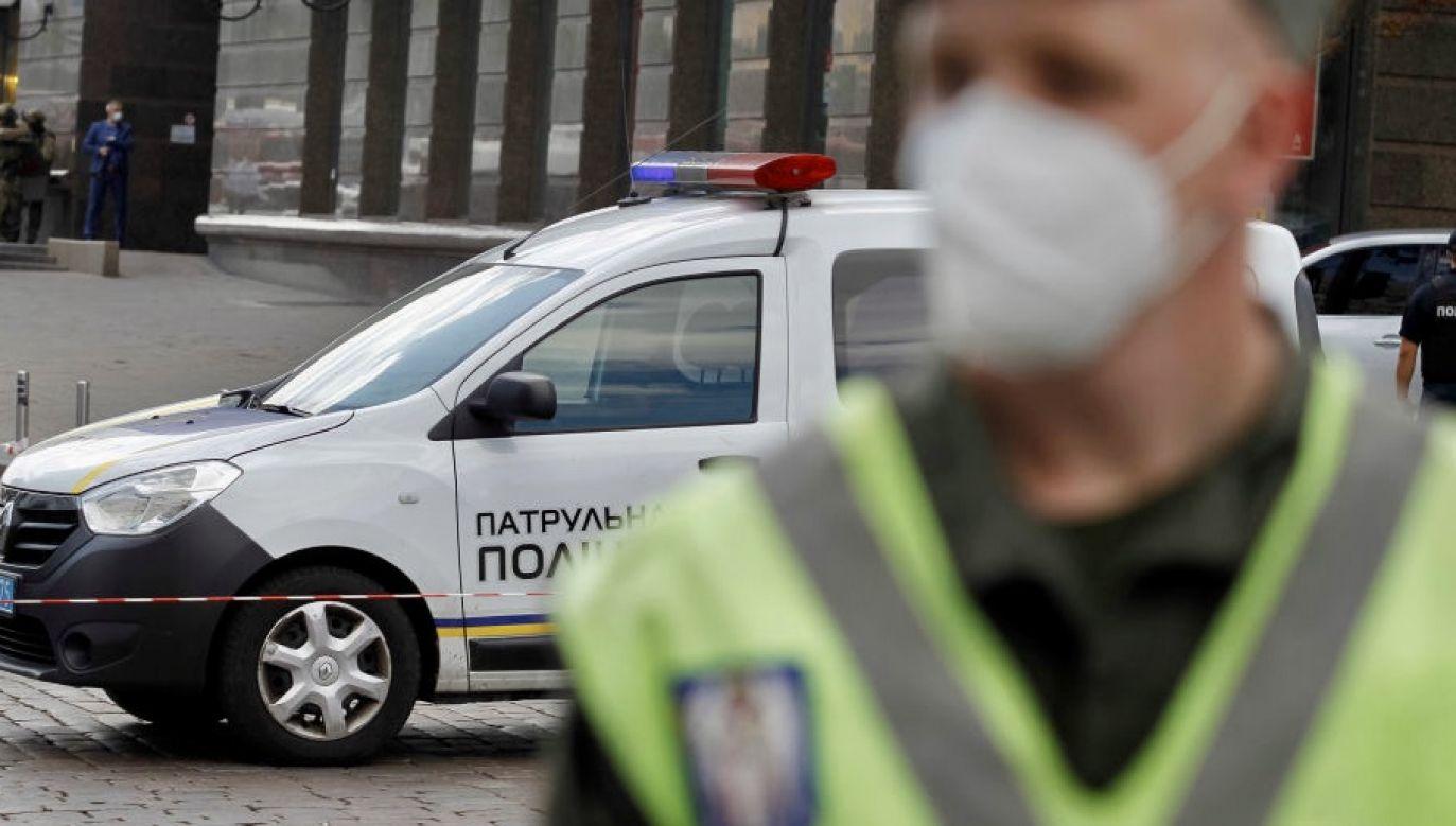 Ukraińska policja otrzymała w środę zgłoszenie dotyczące kobiety z urazem głowy. Ustalono, że to pracownica ambasady USA w Kijowie (fot. STR/NurPhoto via Getty Images, zdjęcie ilustracyjne)