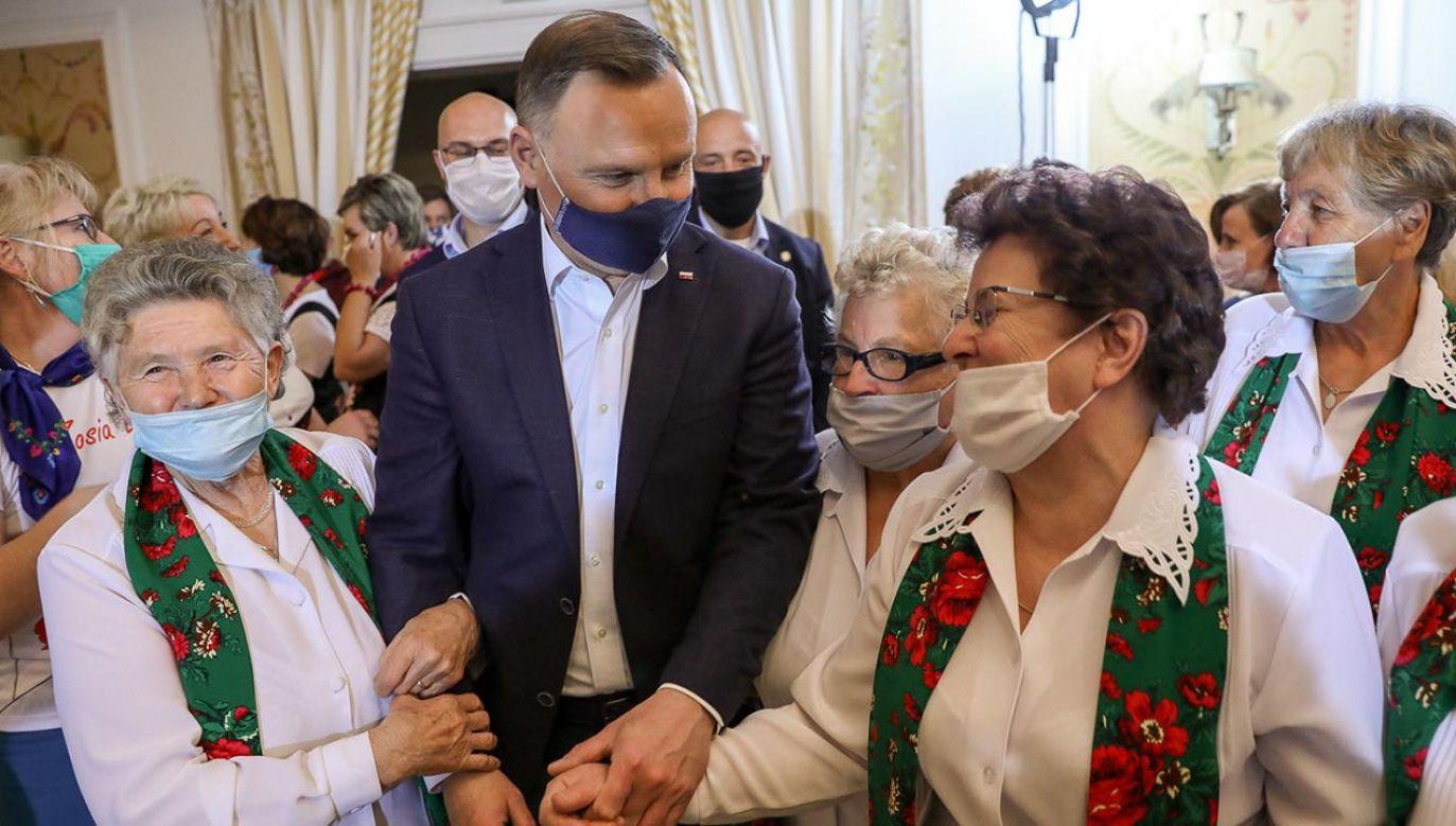 Andrzej Duda odwiedził woj. lubelskie (fot. Jakub Szymczuk/KPRP)