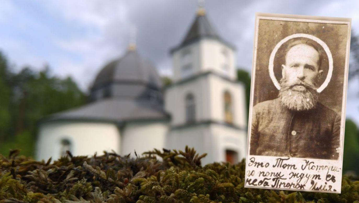 Niepiśmienny chłop Eliasz Klimowicz założył kult na Podlasiu (fot. tvp.info/łz)