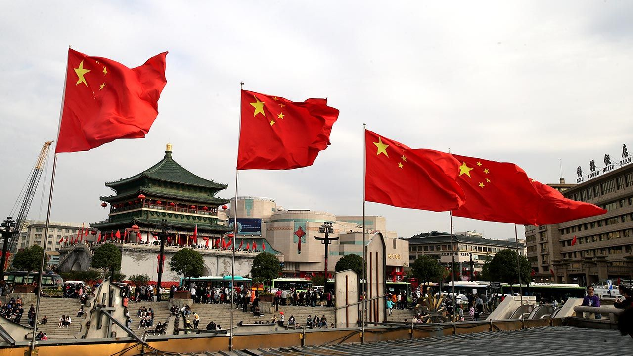 PKB Chin wzrosło w IV kwartale o 6,5 proc. w porównaniu z poprzednim rokiem (fot. Shang Hongtao/VCG via Getty Images)
