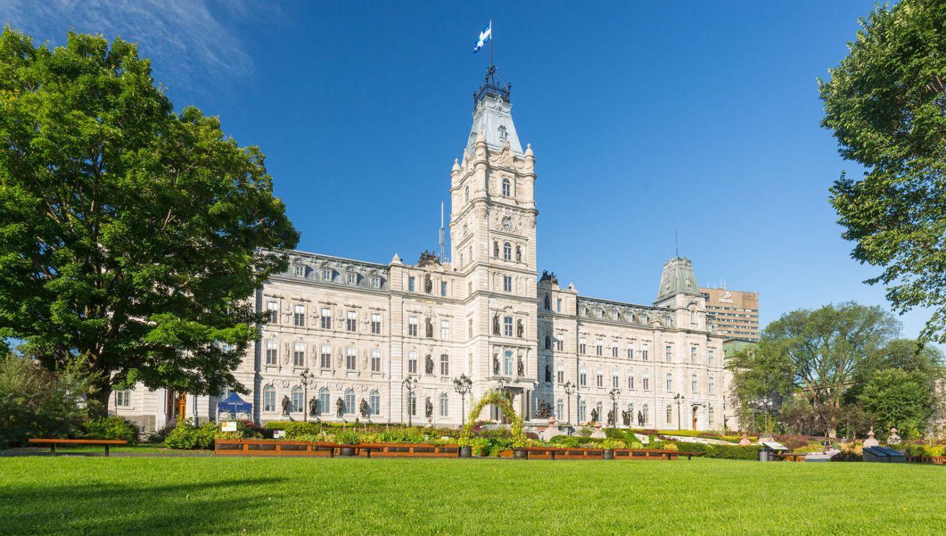 Siedziba Zgromadzenia Narodowego francuskojęzycznej prowincji Quebec w Kanadzie (fot. FB/Assemblée nationale du Québec)