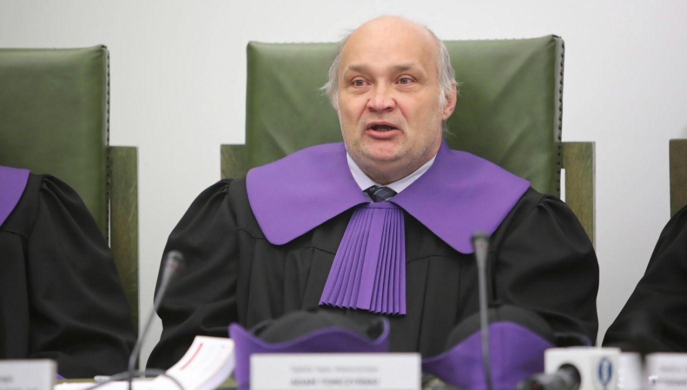 Jak mówił sędzia Adam Tomczyński, w myśl uchwały SN do pracy może wrócić m.in. sędzia skazany za pobicie żony (fot. arch. PAP/Wojciech Olkuśnik)