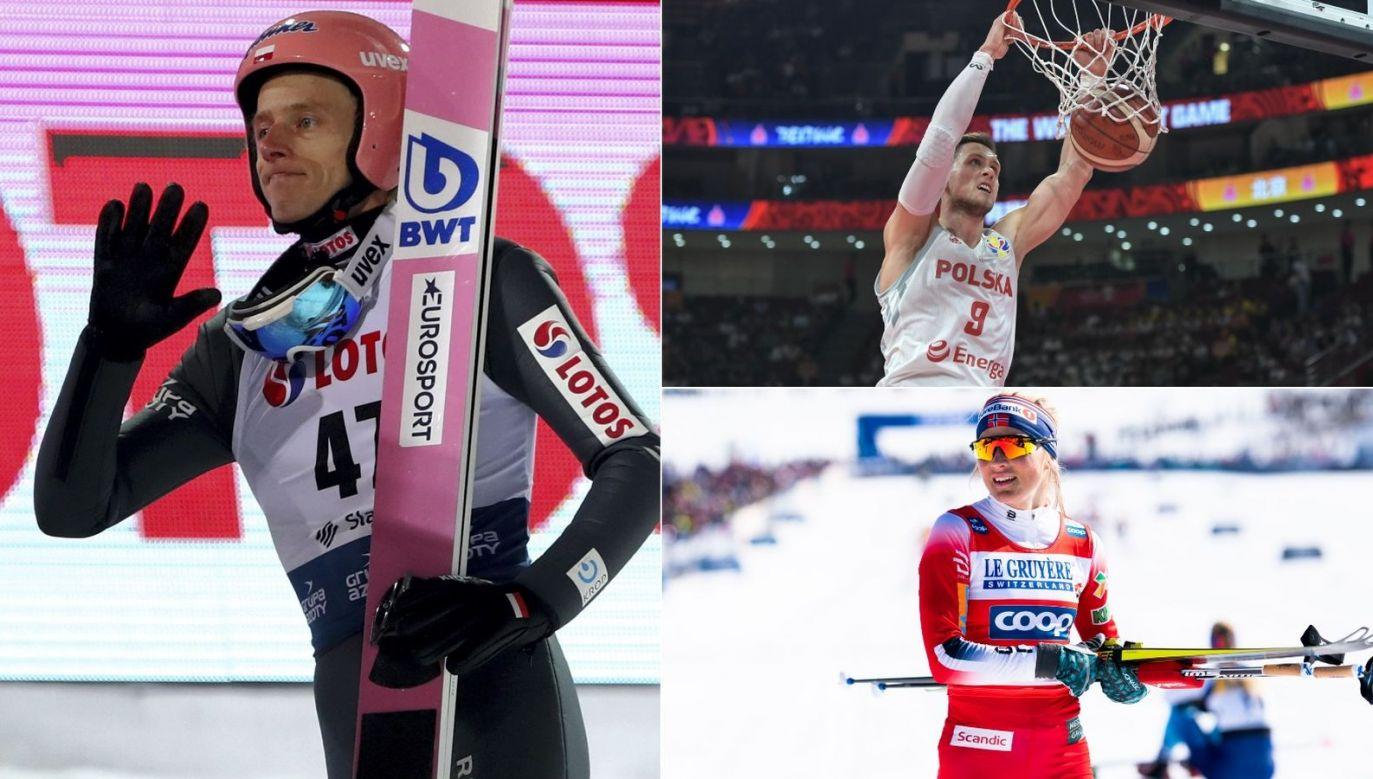 Sobota na antenach TVP i w TVPSPORT.PL to m.in. skoki narciarskie, kosz kadra i biegi narciarskie (fot. PAP/Getty Images)