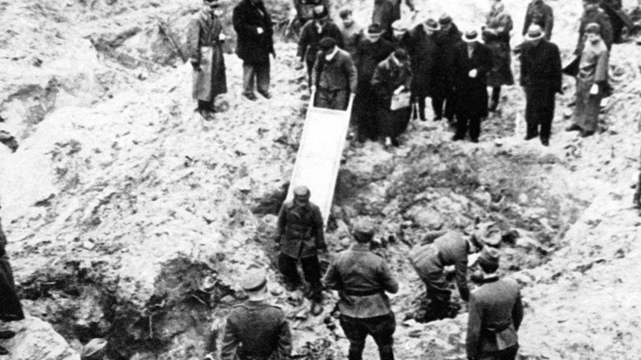 Polaków mordowano na podstawie ściśle tajnej uchwały (fot. KOK-LOCHON/Gamma-Rapho via Getty Images)