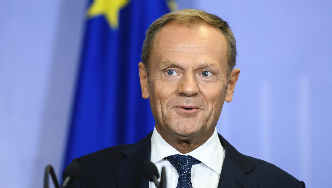 Donald Tusk, były premier RP, szef Europejskiej Partii Ludowej (fot. Maxym Marusenko/NurPhoto via Getty Images))