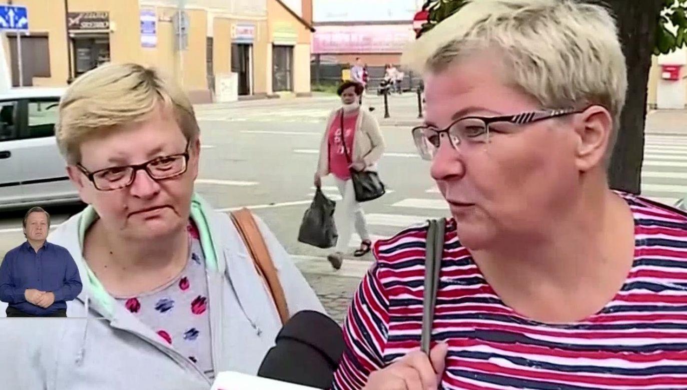 """Kandydat Koalicji Obywatelskiej tego samego dnia w Lesznie zorganizował """"Arenę prezydencką"""" (fot. TVP Info)"""