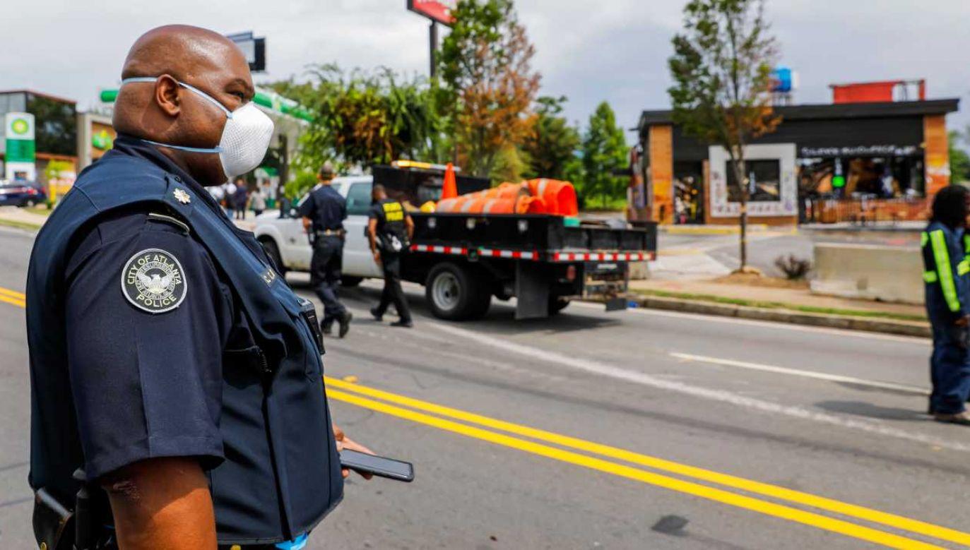 USA zmagają się z falą przemocy (fot. PAP/EPA/ERIK S. LESSER)