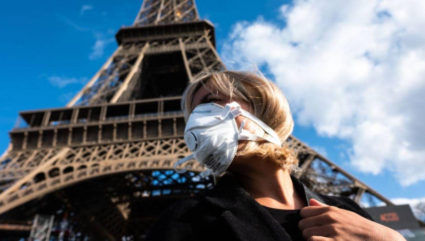 Wczoraj we Francji potwierdzono ponad 30 tys. zakażeń. (fot.Jerome Gilles/NurPhoto via Getty Images)