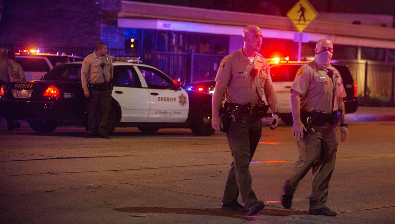 Policja zatrzymała podejrzanego (fot. Jason Armond / Los Angeles Times via Getty Images, zdjęcie ilustracyjne)