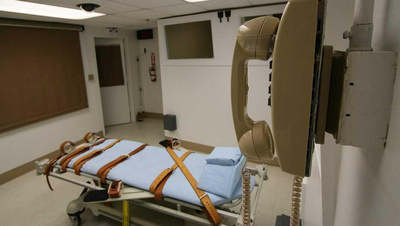 Richard Bernard Moore nie chce zmiany sposobu wykonania egzekucji (fot. Department of Corrections)