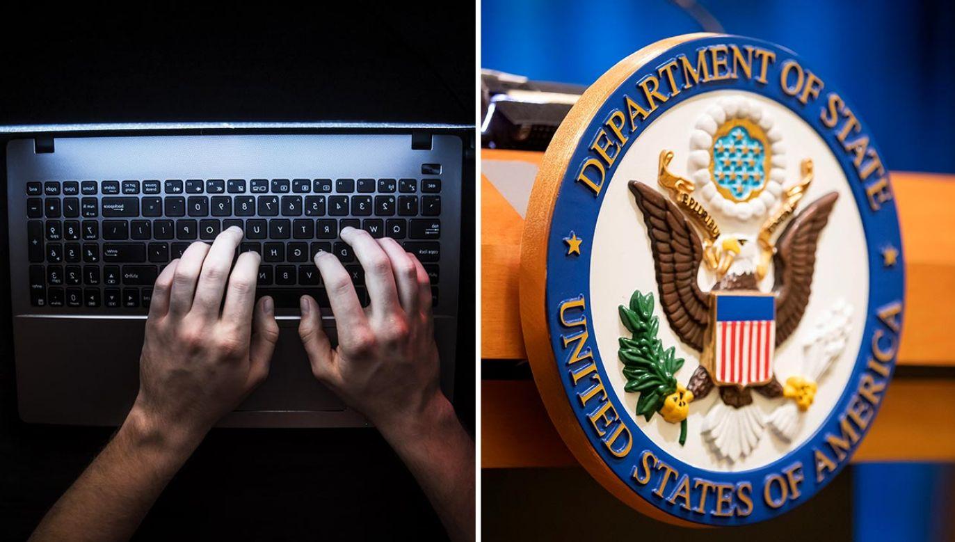 Amerykańska dyplomacja deklaruje pomoc w walce z rosyjską dyplomacją (fot. Shutterstock/Dmytro Tyshchenko; PAP/EPA/ERIK S. LESSER)