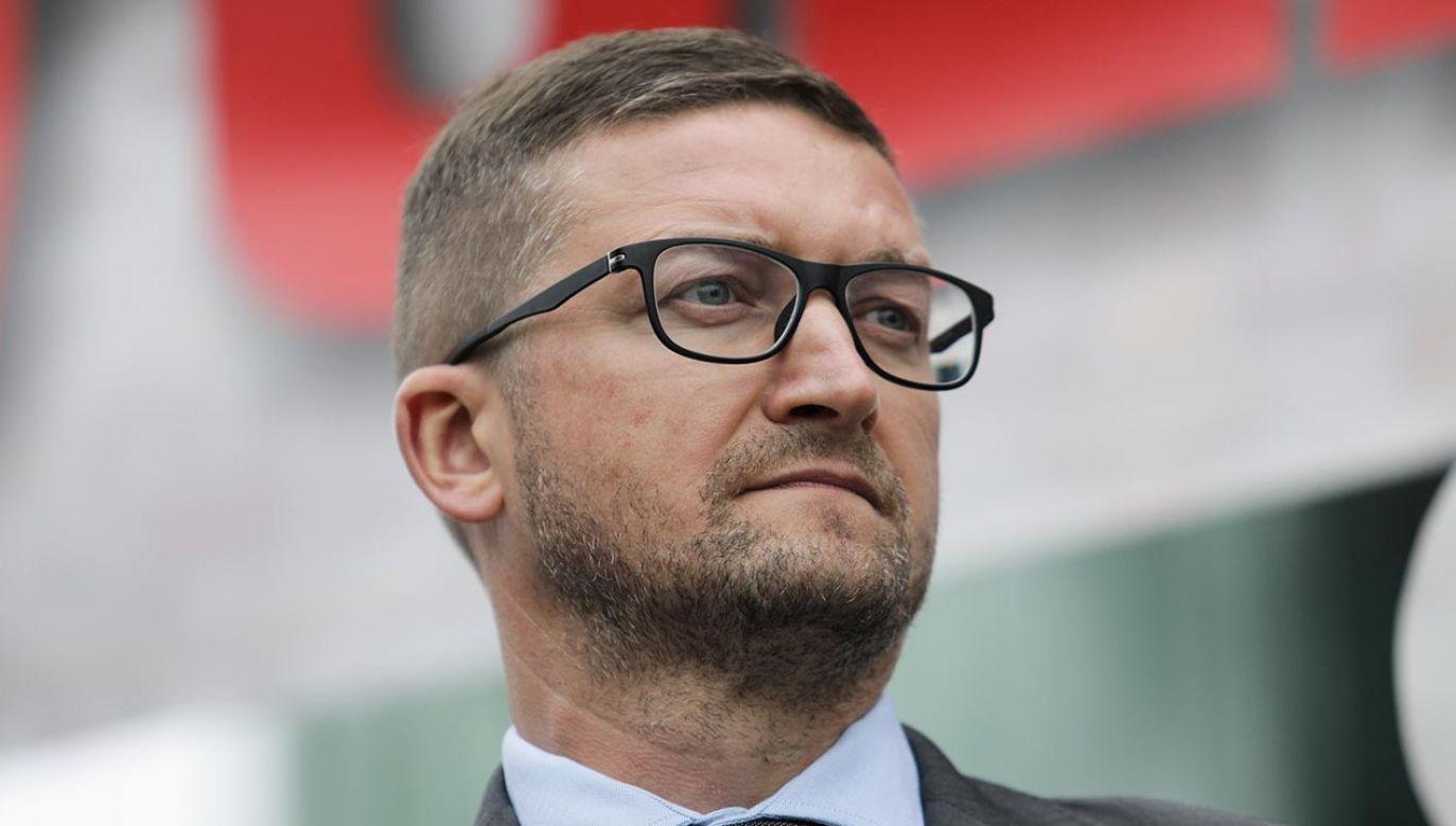 Juszczyszyn został prawomocnie zawieszony w czynnościach przez Izbę Dyscyplinarną SN  (fot. Forum/Andrzej Hulimka)