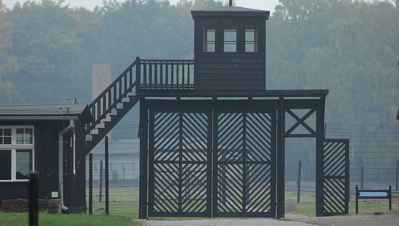– To się powinno odbyć pięćdziesiąt lat temu – powiedział jeden z byłych więźniów obozu Stutthof (fot. arch. PAP/Piotr Wittman)