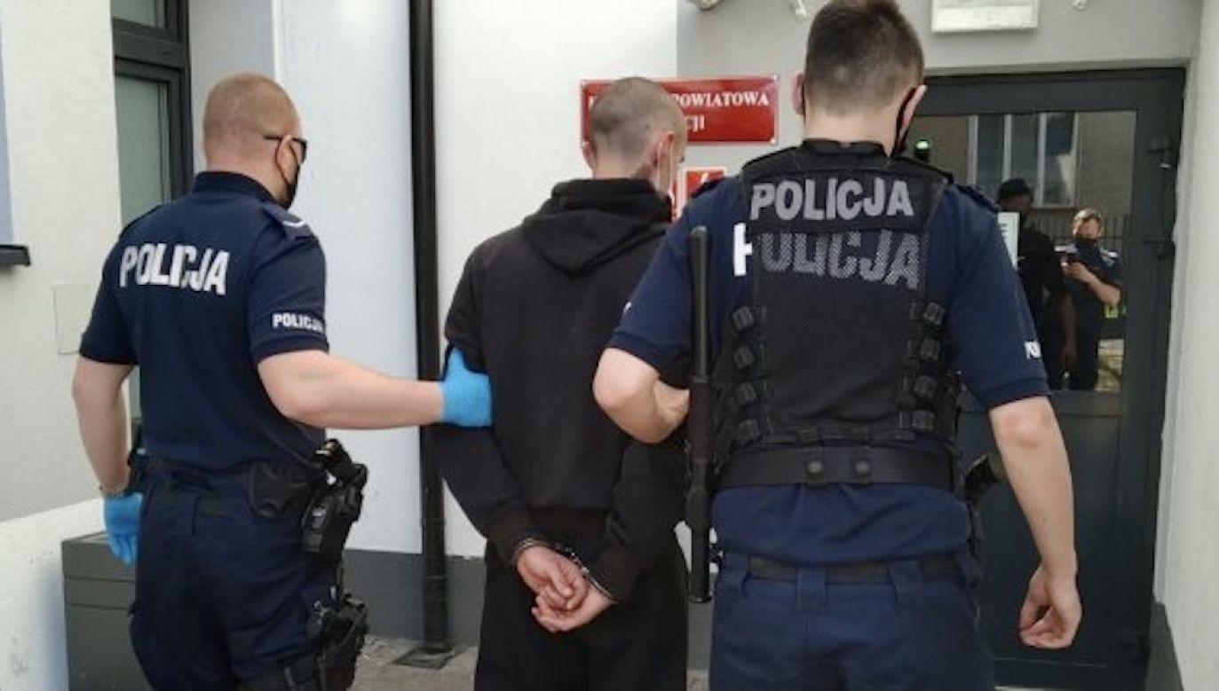 Mężczyźnie grozić może nawet lat 5 więzienia (fot. Policja świetokrzyska)
