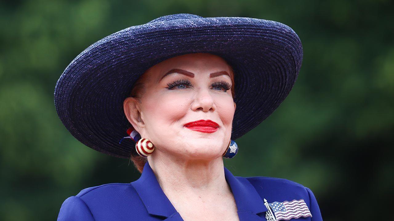 Ambasador USA w Polsce Georgette Mosbacher (fot.  Beata Zawrzel/NurPhoto via Getty Images)