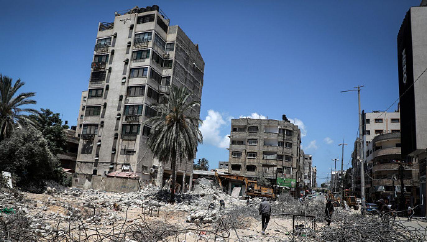 To drugi od początku tego tygodnia izraelski nalot na Strefę Gazy (fot. Getty Images)
