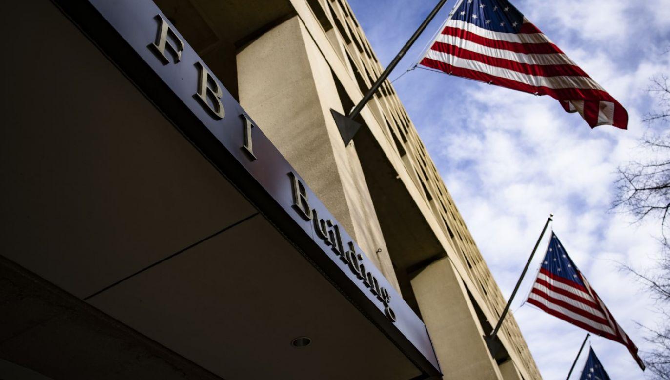 FBI obawia się, że w najbliższych dniach może dojść do aktów przemocy w związku z zaprzysiężeniem Joe Bidena(fot. Samuel Corum/Bloomberg via Getty Images )
