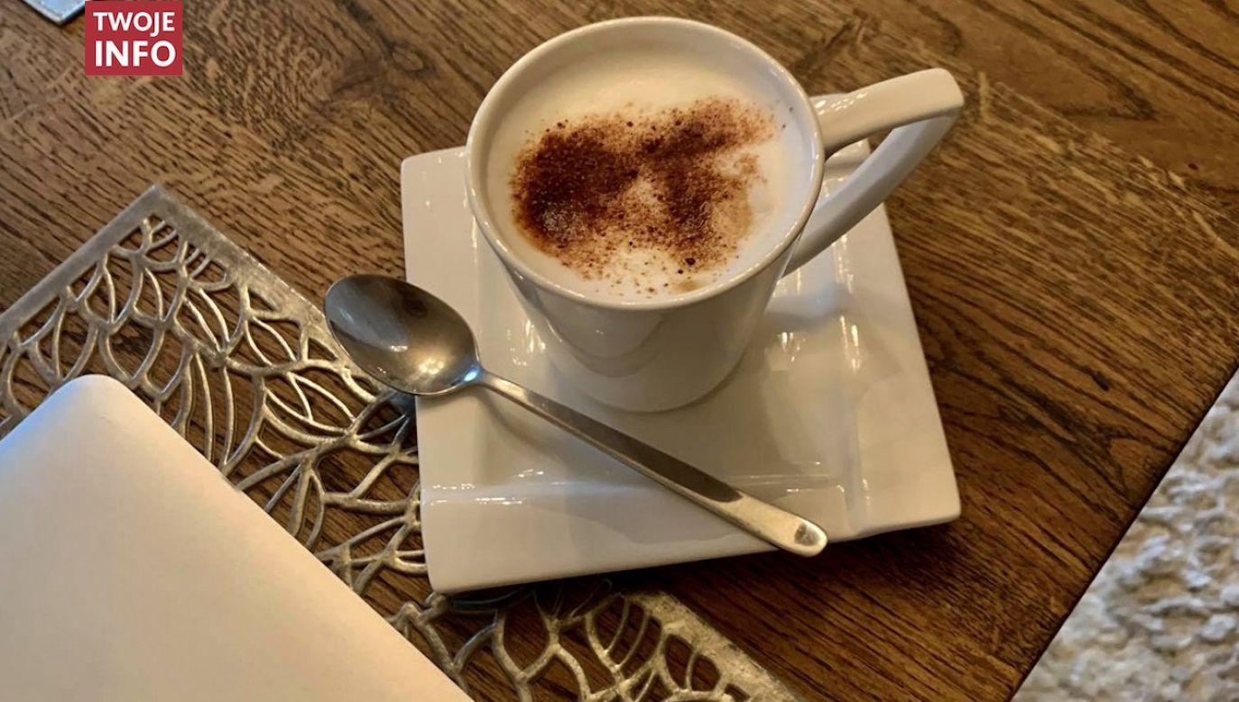 Zdjęcie porannej kawy od naszej czytelniczki pani Natalii (fot. Twoje Info)