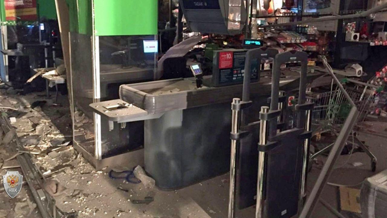 Policja od środy szukała sprawcy ataku na supermarket (fot. PAP/EPA/Russian National Antiterrorism Commitee)