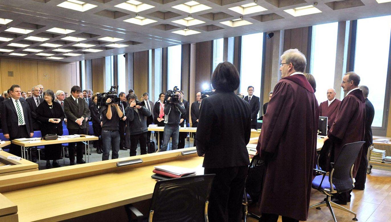 Znaczący procent sędziów brał aktywny udział w działalności reżimu hitlerowskiego (fot. PAP/DPA, zdjęcie ilustracyjne)
