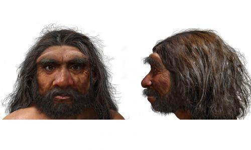 Rekonstrukcja twarzy nowego gatunku Homo sapiens: Człowieka-Smoka. Fot. Chuang Zhao via Muzeum Historii Naturalnej w Londynie