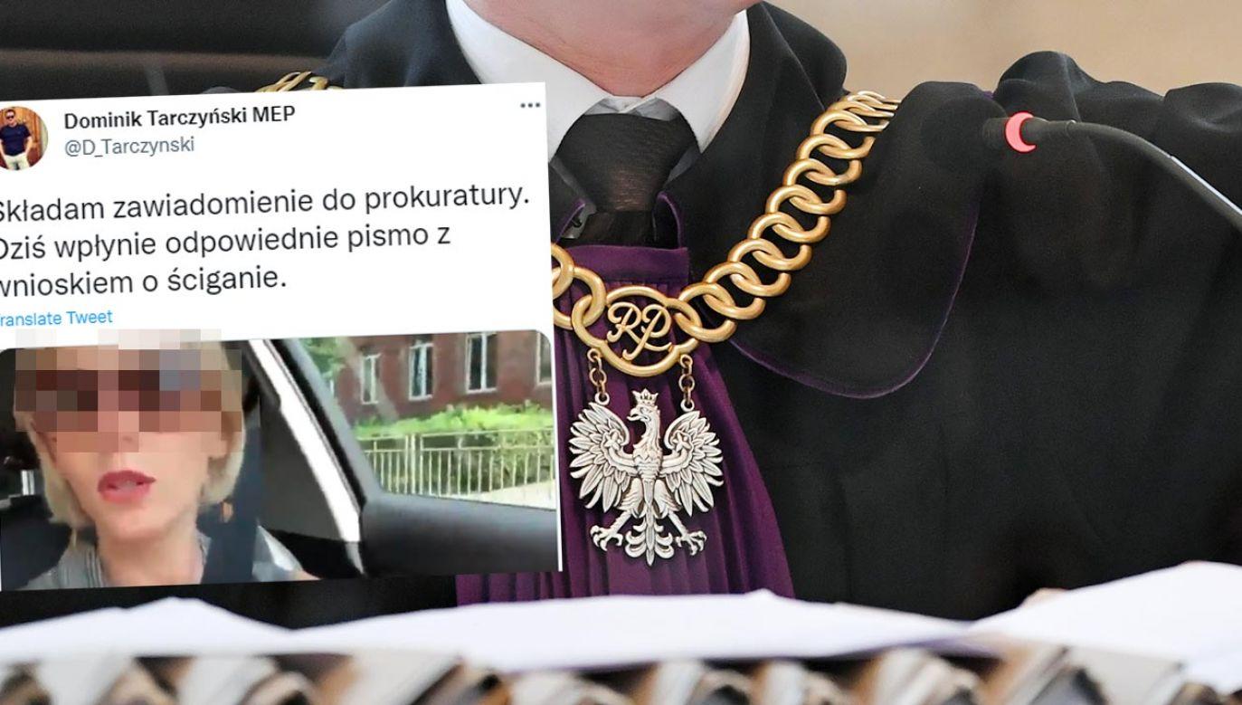 Grzywna za publiczne znieważenie narodu polskiego i Polaków (fot. PAP/Adam Warżawa)