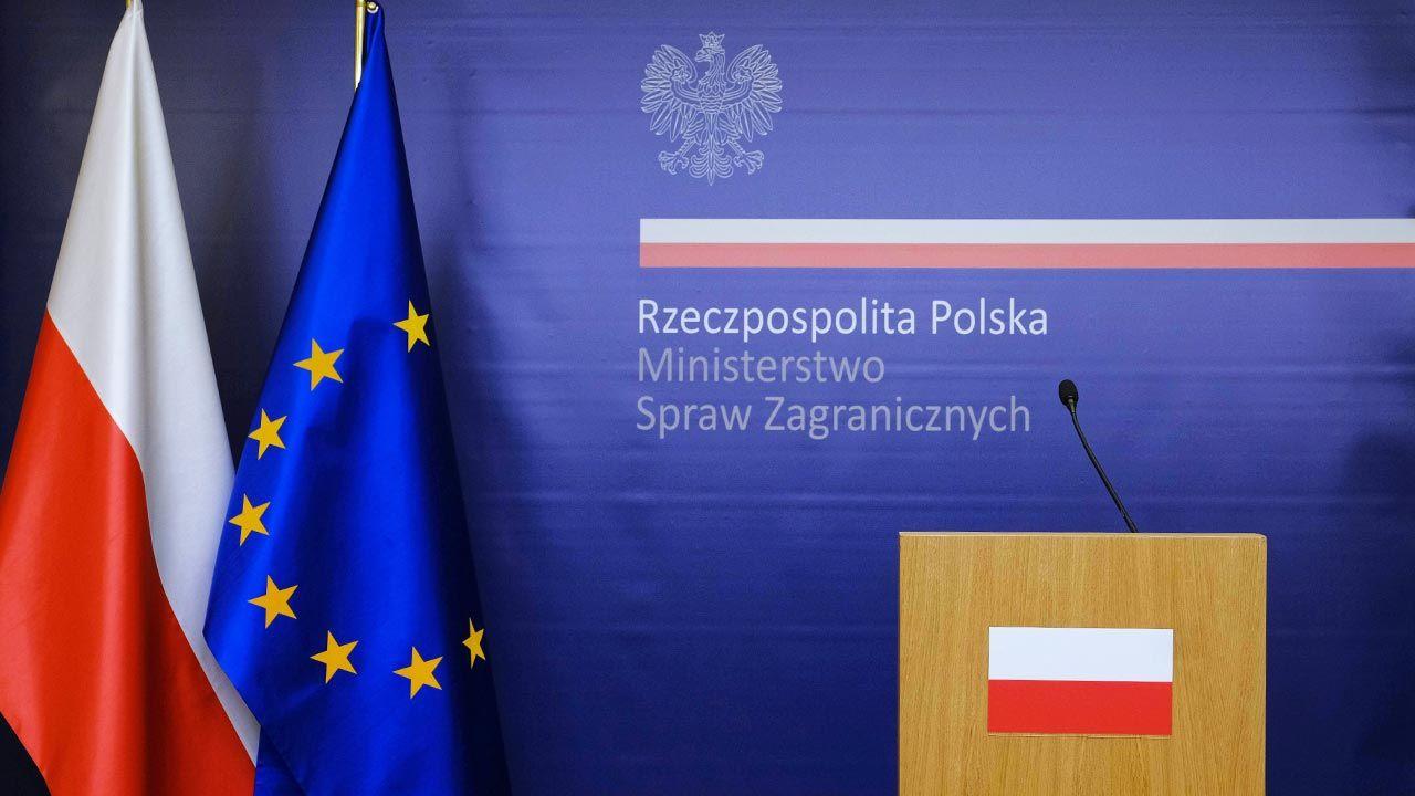 Polskie MSZ odpowiada stronie izraelskiej ws. reprywatyzacji (fot. PAP/Mateusz Marek)