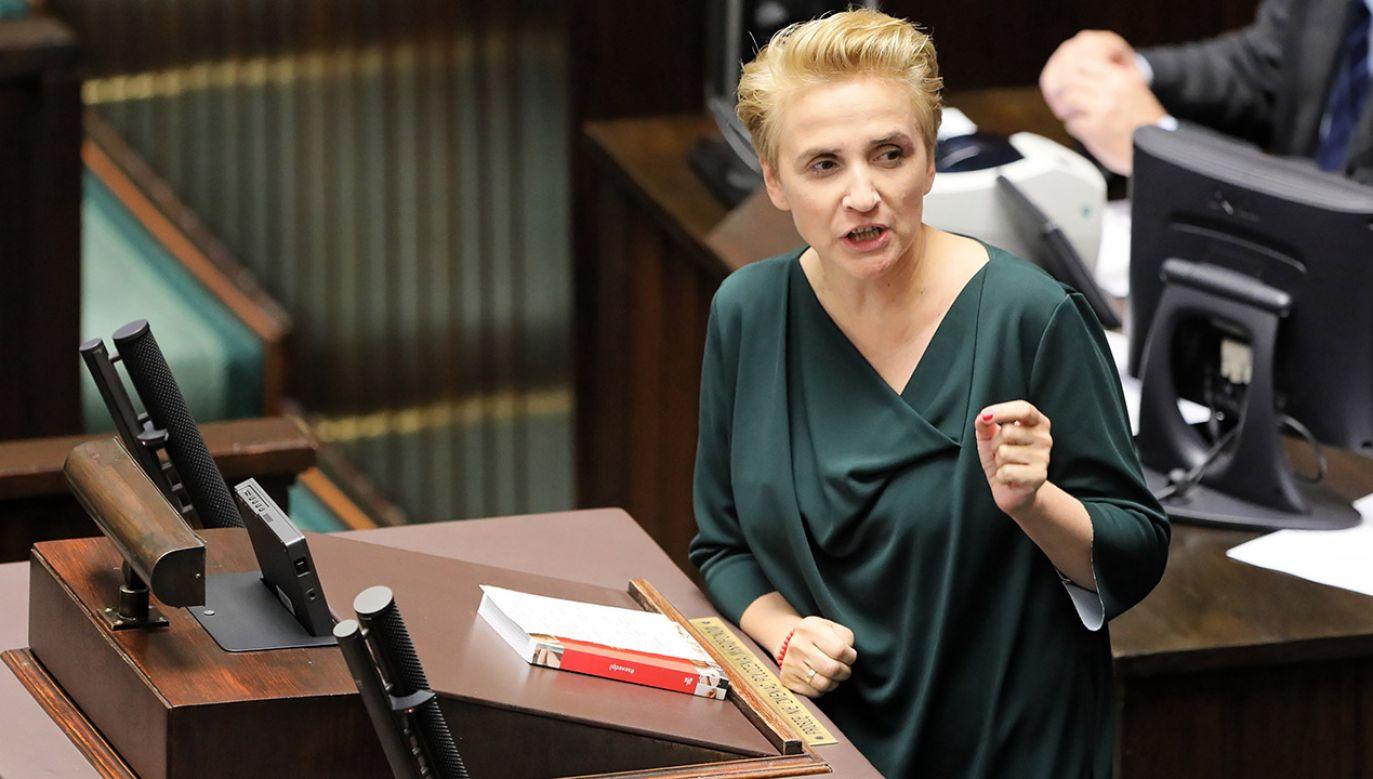 Joanna Scheuring-Wielgus (fot.  PAP/Paweł Supernak)