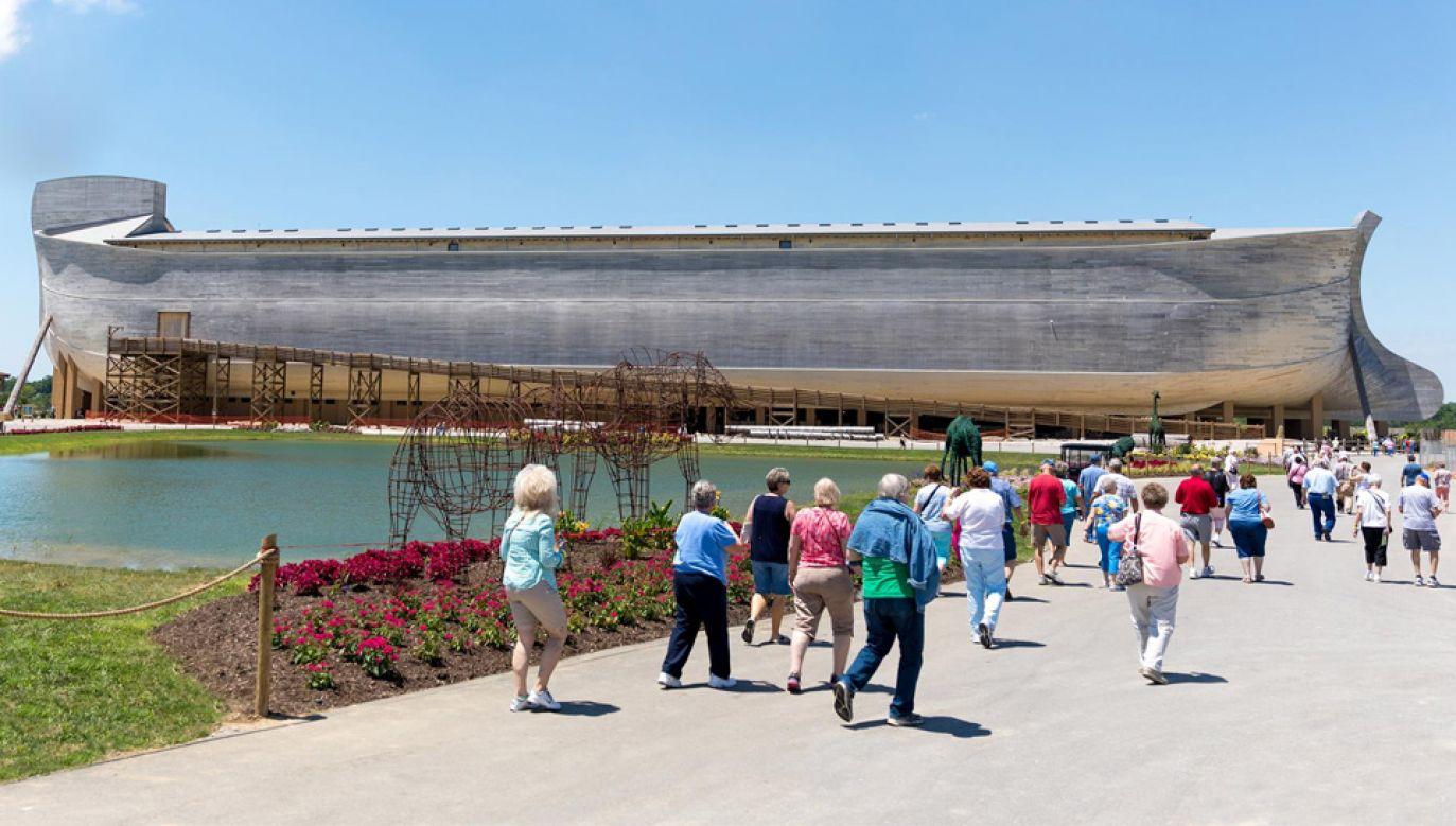 Replika Arki Noego kosztowała ponad 100 mln dolarów (fot. FB/Ark Encounter)