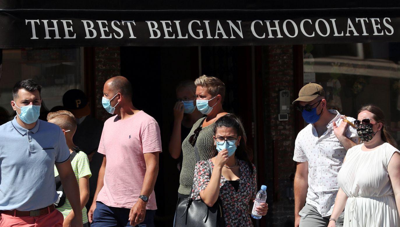 Od kilku tygodni w Belgii, a zwłaszcza w prowincji Antwerpia, odnotowuje się znaczny wzrost zakażeń koronawirusem (fot. Yves Herman/Reuters)