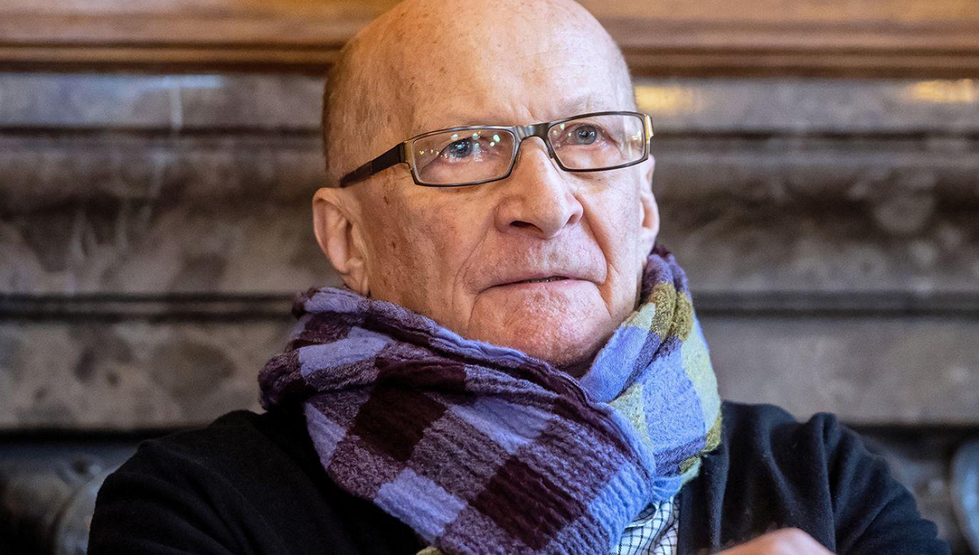 Aktor Wojciech Pszoniak (fot. arch. PAP/Grzegorz Michałowski)