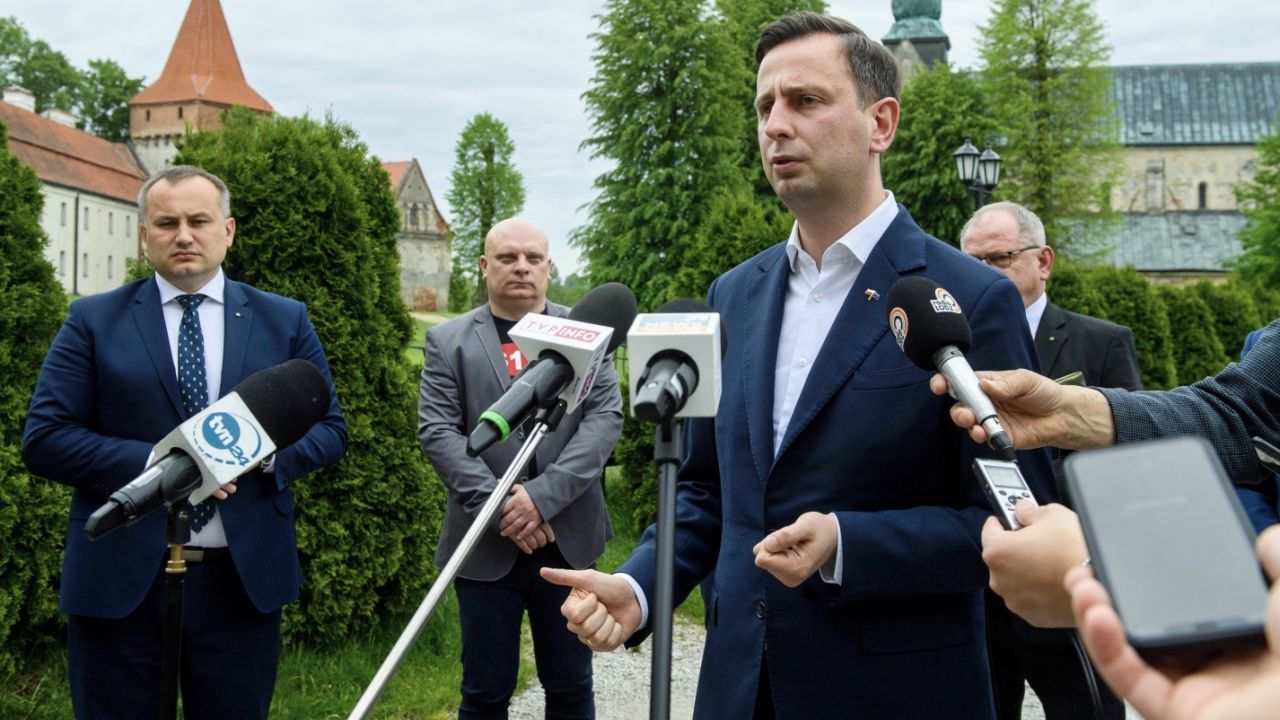 Polityk był gościem radia TOK FM (fot. PAP/Grzegorz Michałowski)