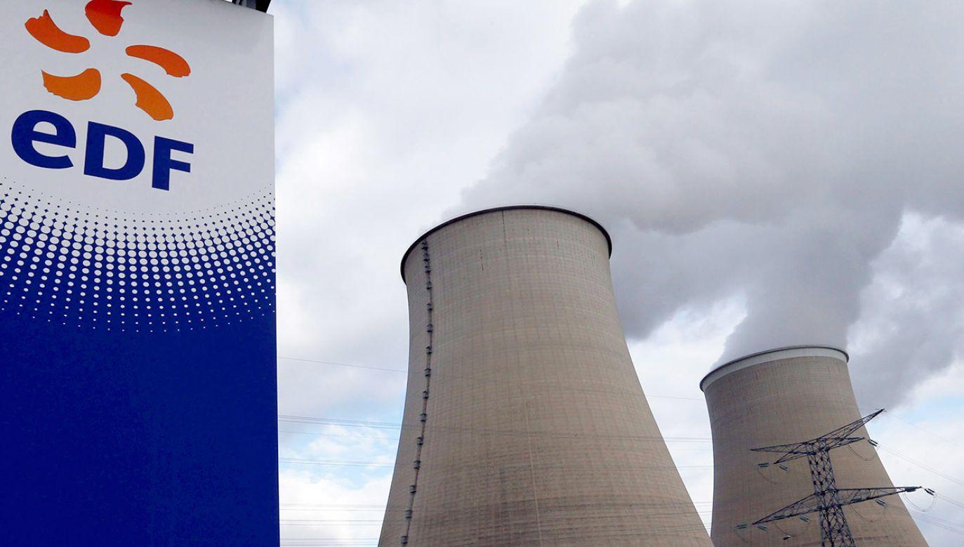 Elektrownia Cruas pokrywa 4–5 proc. francuskiego zapotrzebowania na energię elektryczną (fot. REUTERS/Regis Duvignau)