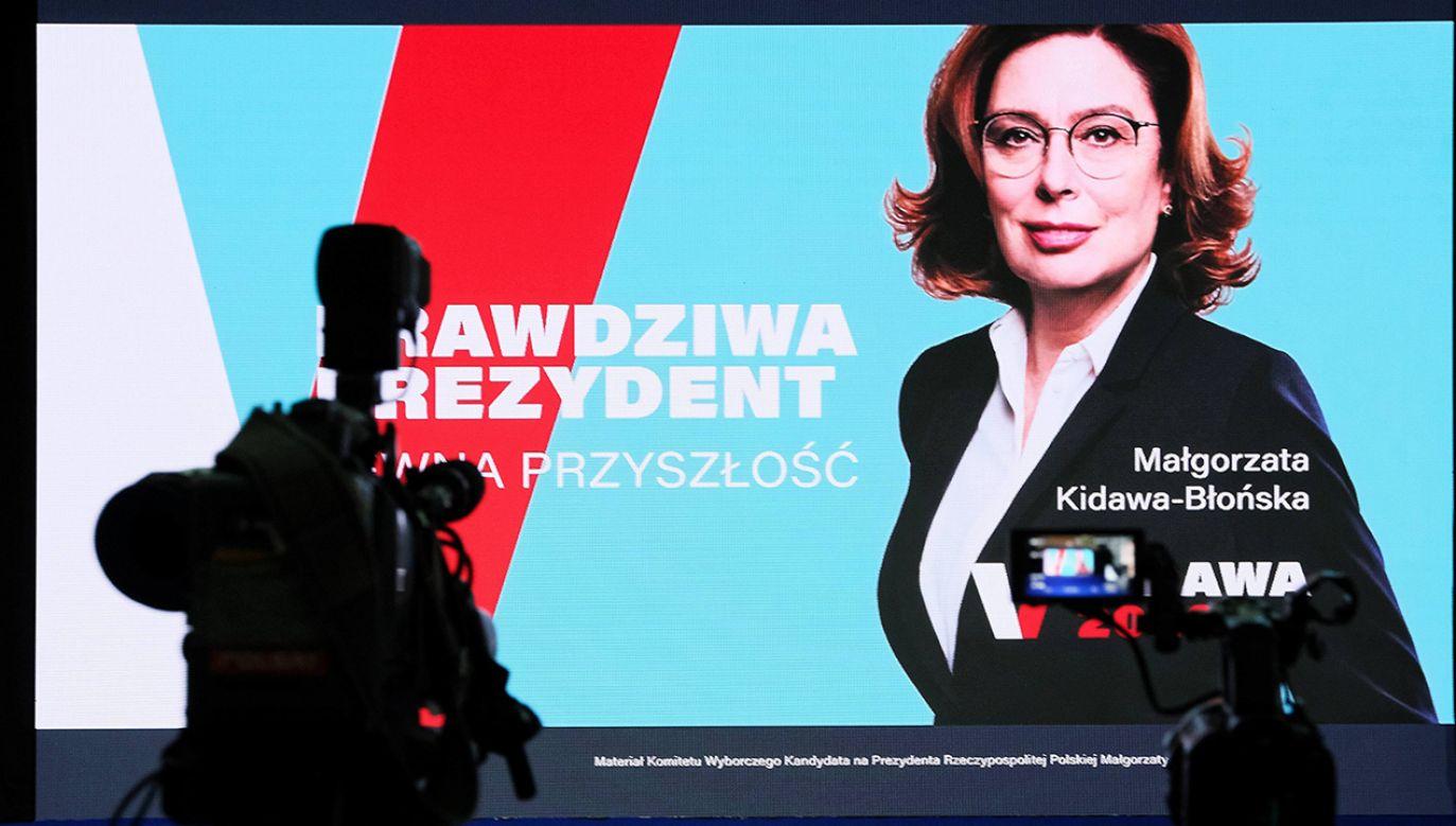 Politycy PiS-u i Lewicy krytykują kandydatkę PO na prezydenta za to, że próbowała przepytywać potencjalnego wyborcę. (fot. arch. PAP/Mateusz Marek)