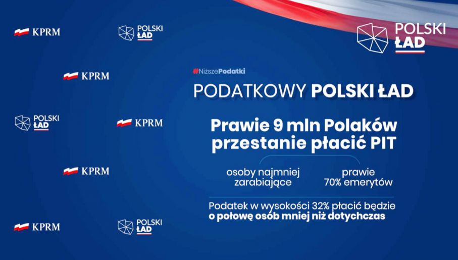 Polski Ład to pakiet znacznych reform (fot. mat. pras.)