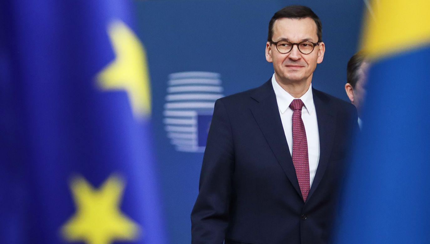 W podobnym tonie, co prof. De Grauwe, wypowiadał się niedawno premier Morawiecki (fot. Nicolas Economou/NurPhoto via Getty Images)