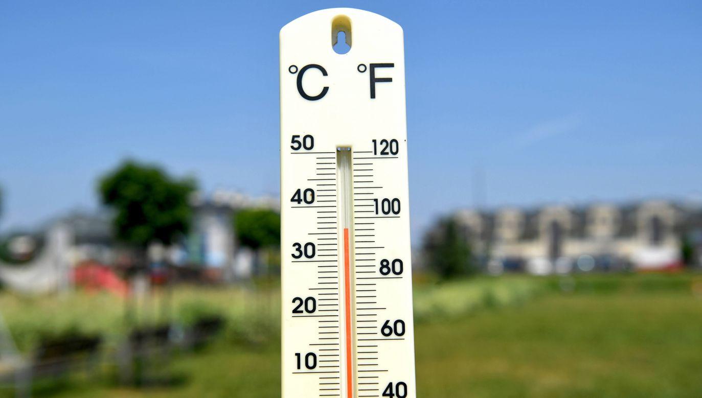 Temperatura maksymalna w poniedziałek w Polsce to 34 st. C (fot. arch. PAP/Darek Delmanowicz)