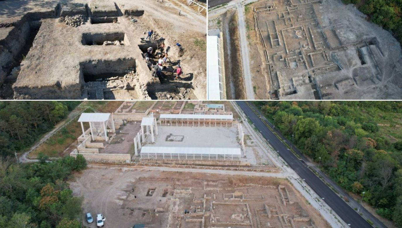 Badania prowadzone są w Novae w Bułgarii (fot.UW)