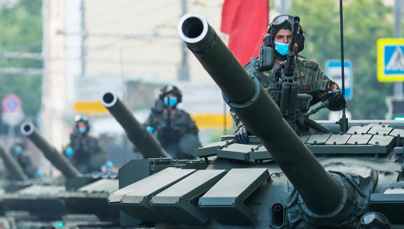 Ołeksij Daniłow zaznaczył, że wejście wojska może być uzależnione od sytuacji po wyborach w Mołdawii 1 listopada (fot. Mikhail Japaridze\TASS via Getty Images)
