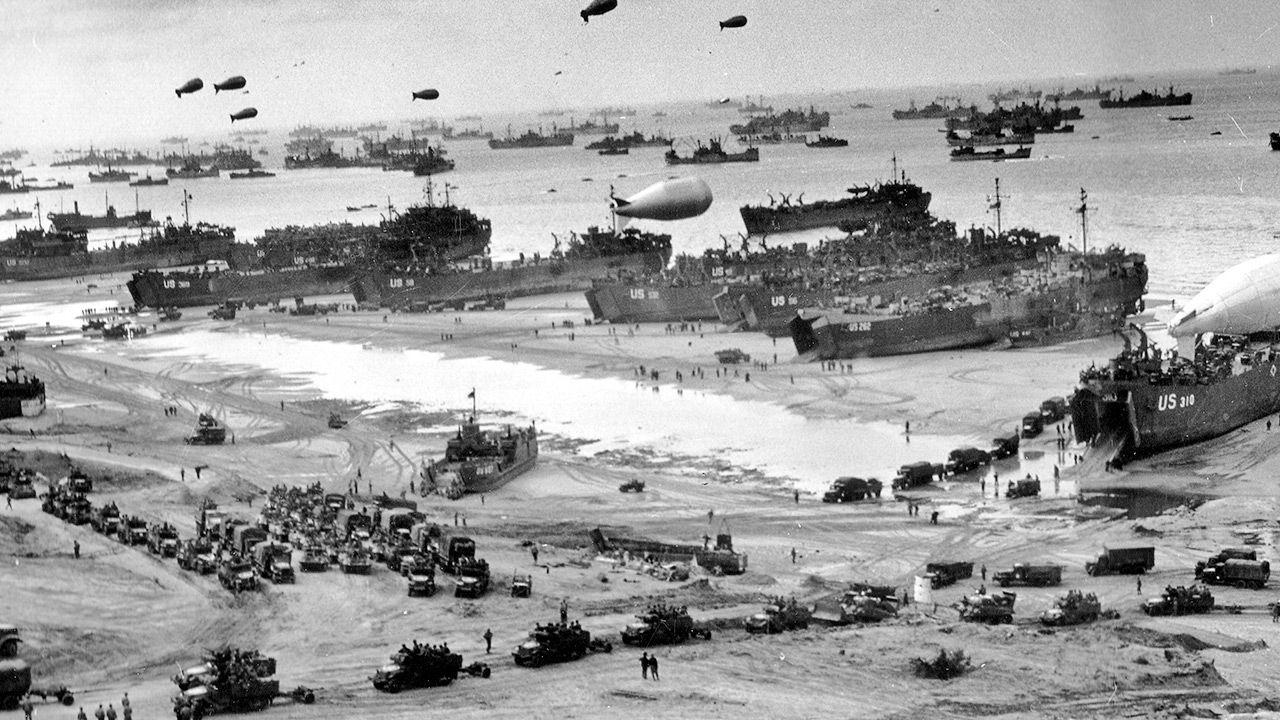 Lądowanie w Normandii było kluczowym momentem II wojny światowej (fot. Universal History Archive/Universal Images Group via Getty Images)