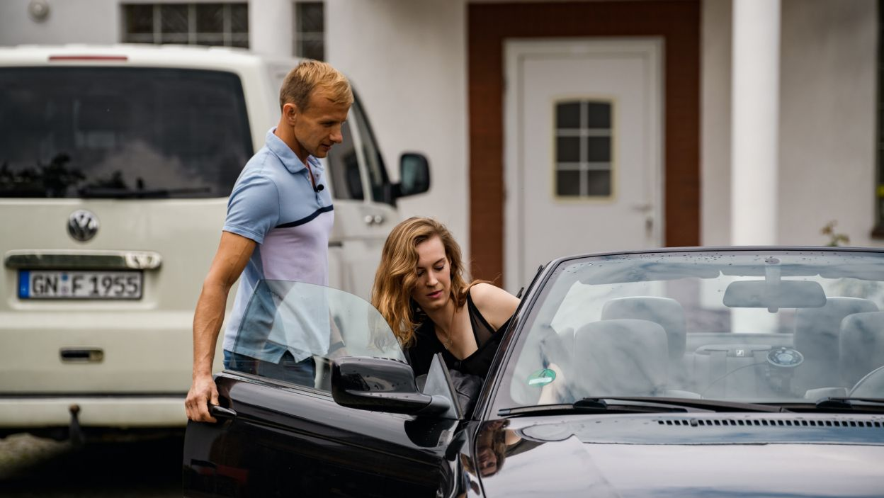 Paweł zabrał Agnieszkę na randkę. Musieli sobie coś wyjaśnić(fot. TVP)