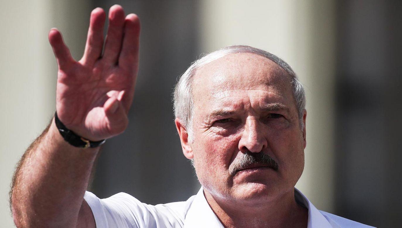 Działania Białorusi potępiło wiele państw, w tym Polska (fot. Valery Sharifulin\TASS via Getty Images)