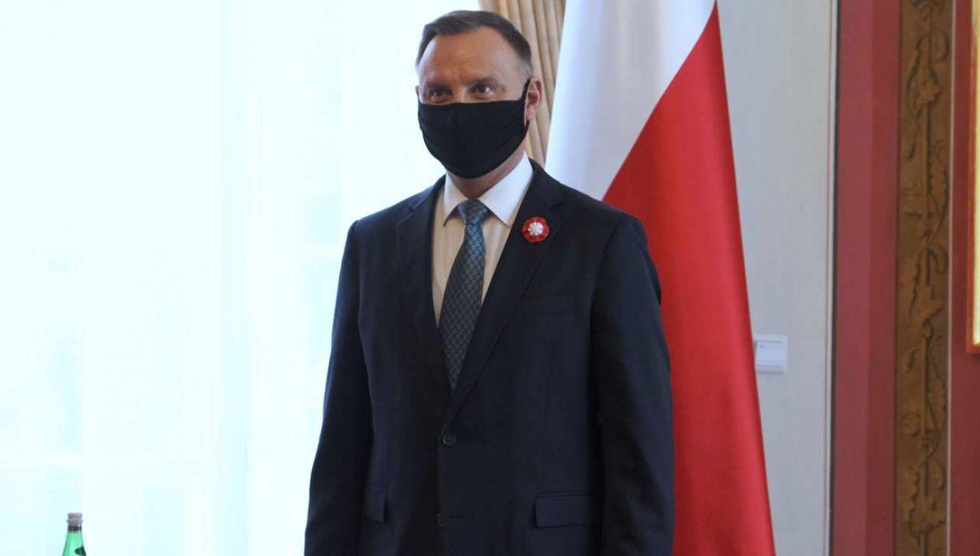 Prezydent: Fundusz Odbudowy to niezwykle potrzebny instrument dzisiaj Europie  (fot. PAP/Mateusz Marek)